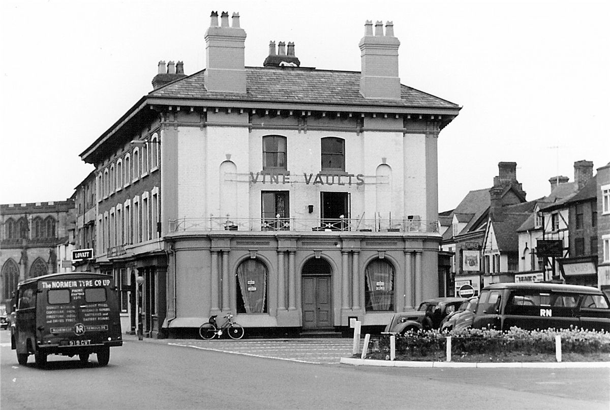 The Vine Vaults, Newport, in about 1950. Picture: the Malcolm Miles collection.