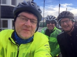 Cycle expedition for hospice