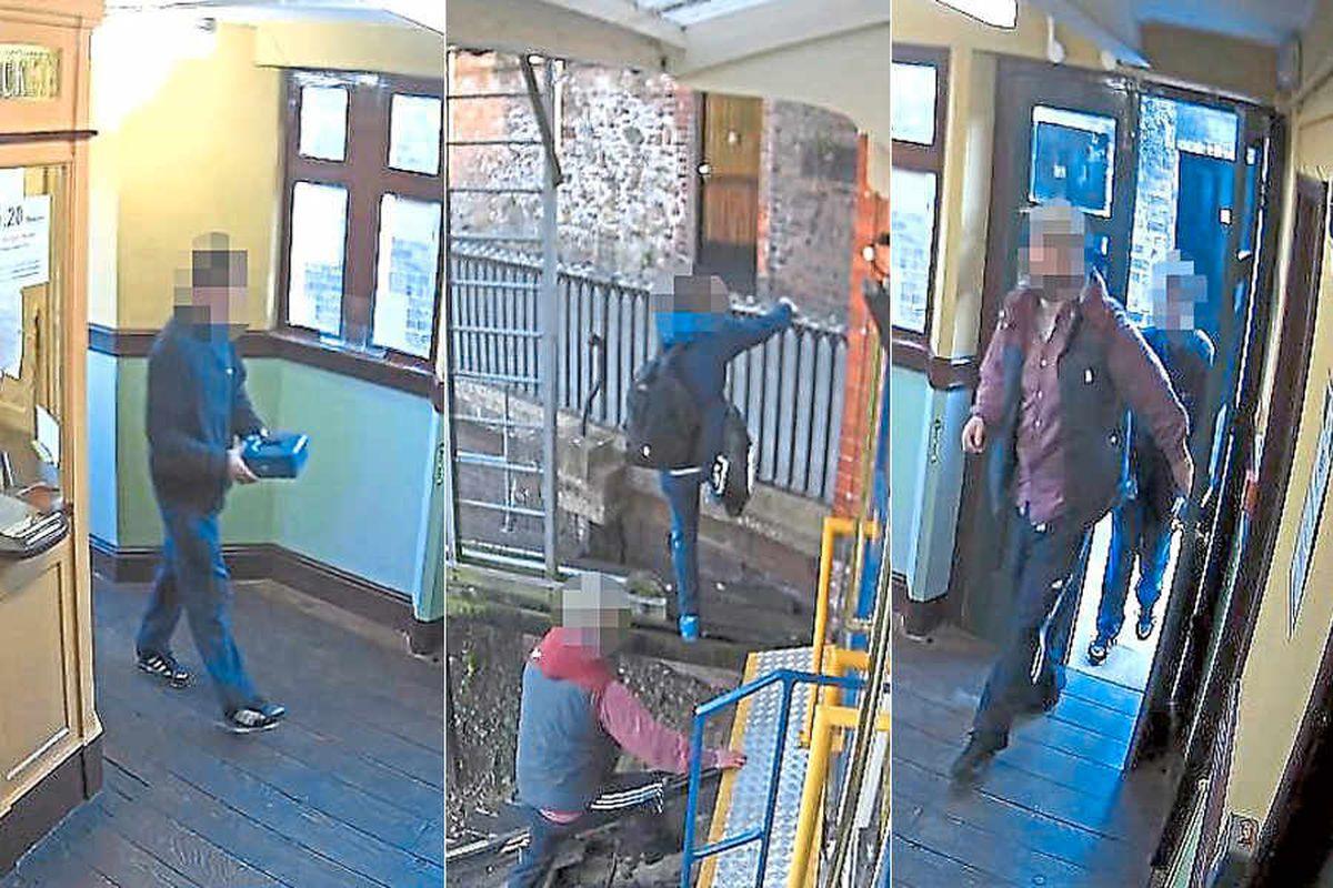Caught on CCTV: Carriage lockdown drama after Bridgnorth Cliff Railway theft