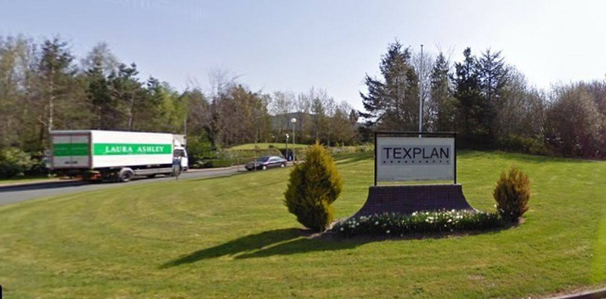 Laura Ashley's Texplan site in Newtown