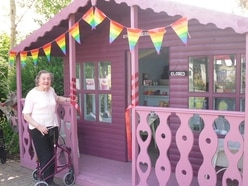 Shed transformed into new care home shop in Bishop's Castle