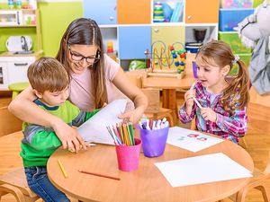 Price tag – childcare costs can be hefty