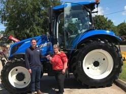 Tractor trek for Pauline