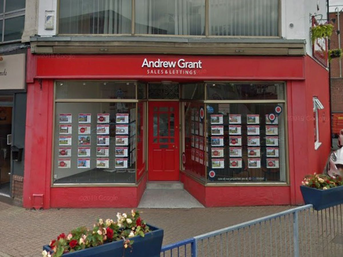 The Stourbridge office of Andrew Grant is one of the branches to have closed. Photo: Google