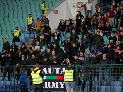 Five more arrested over racist abuse at England match in Bulgaria