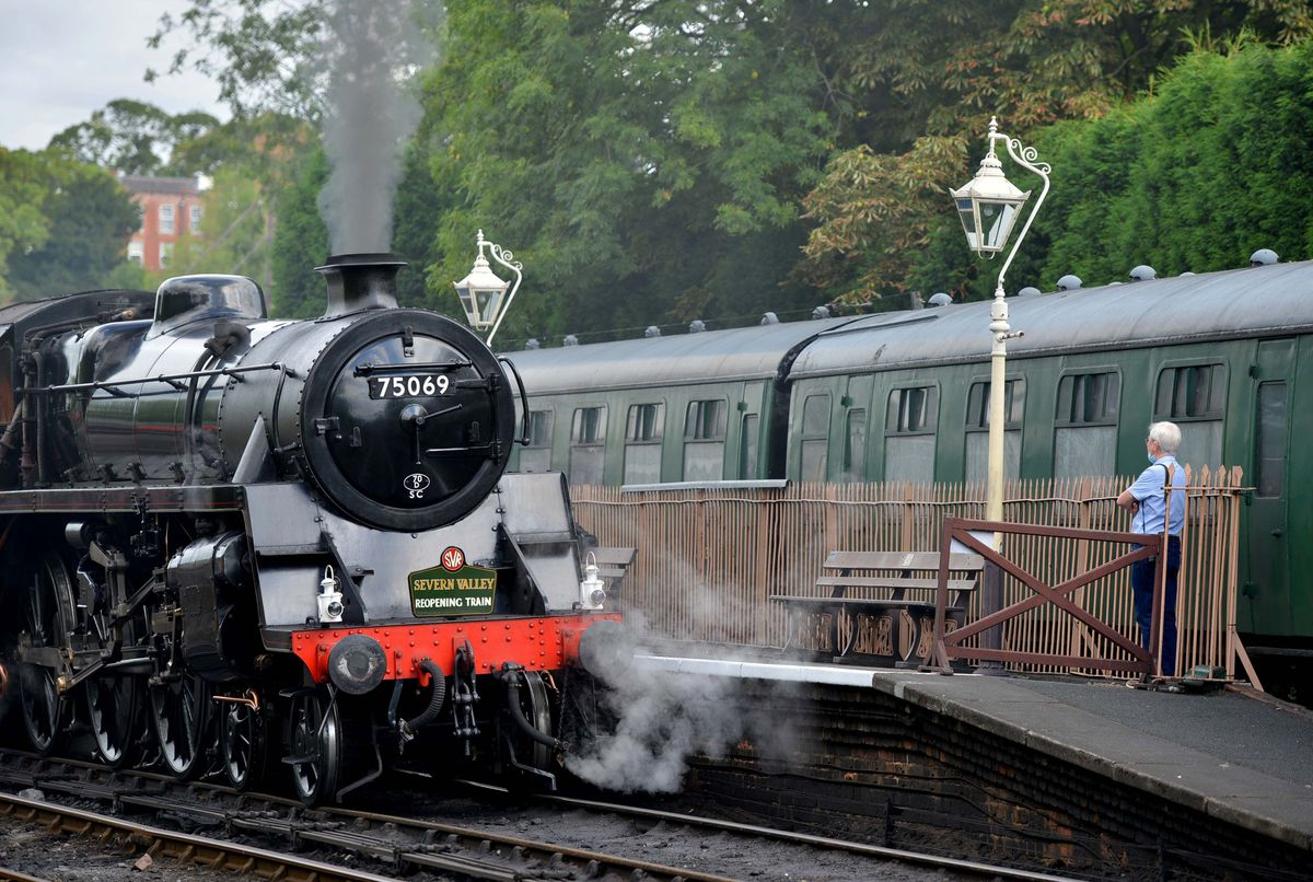 The Severn Valley Railway will use the track as part of its replacement work.