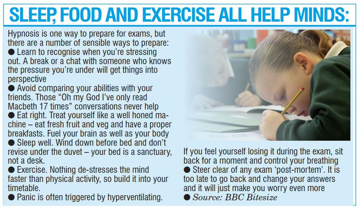 Tips for preparing for exams