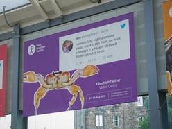 Edinburgh Fringe display celebrates best of Scottish Twitter