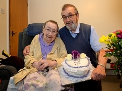 'Make the best of everything you have': Newport theatre stalwart Pat's cosy 101st birthday celebrations