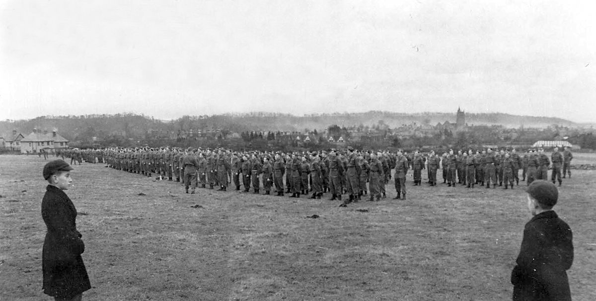 Fond Farewell To Town S Home Guard Soldiers Shropshire Star