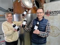 Shropshire gin distillery producing hand sanitiser amid coronavirus crisis