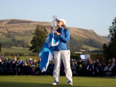 Record-breaking crowds watch Europe win Solheim Cup at Gleneagles