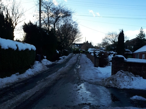 Snow update: Shropshire on flood alert as thaw sets in
