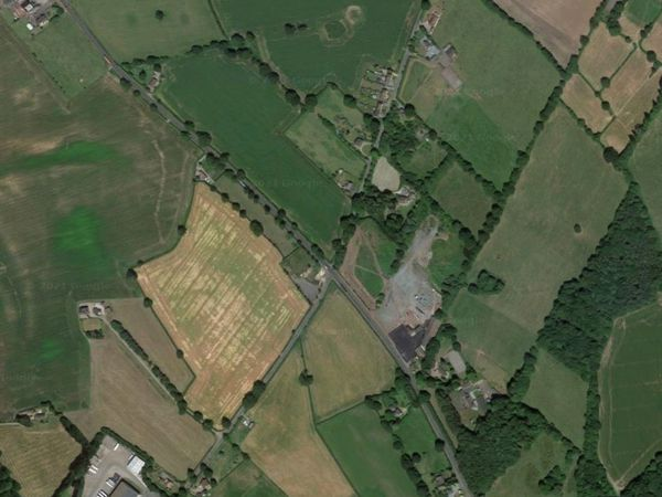 The crash happened on the A41 at Mill Green, pictured. Photo: Googl