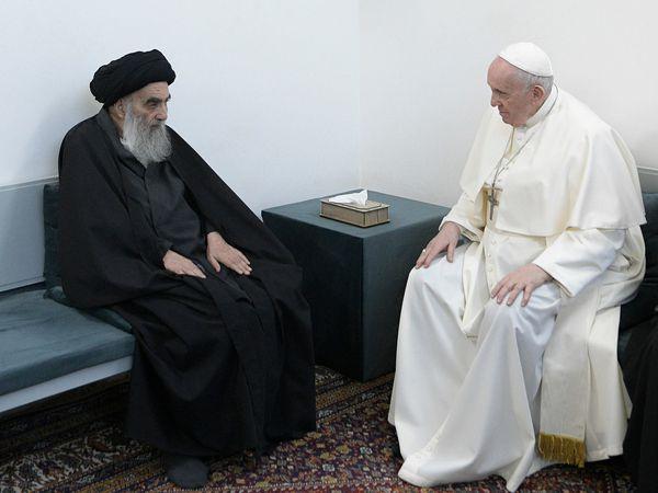 Pope Francis and Grand Ayatollah Ali al-Sistani