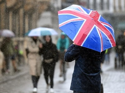 Heavy rain forecast to hit UK in run-up to polling day