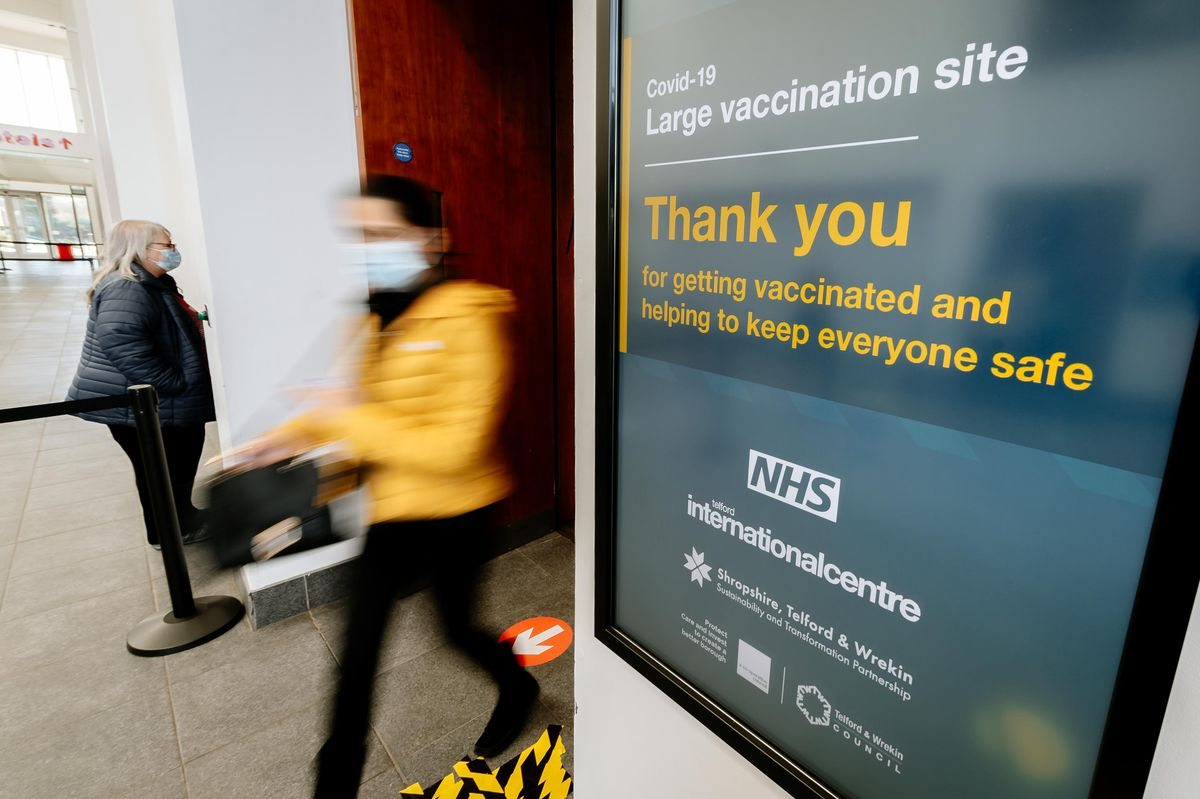 More than 95 per cent of over 65s have now been vaccinated in the county
