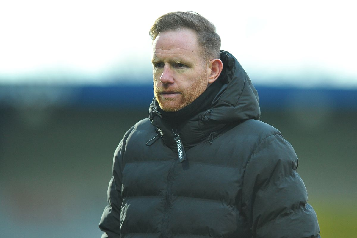 Telford manager Gavin Cowan. COPYRIGHT MIKE SHERIDAN