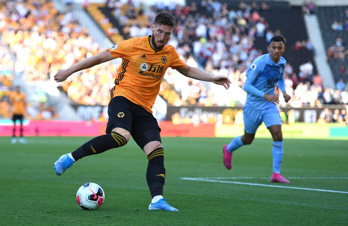 Matt Doherty in action against Burnley (© AMA / Sam Bagnall)