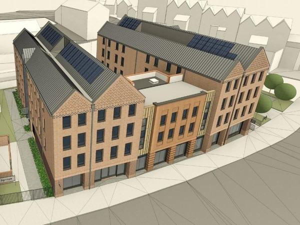 Final designs for student halls in centre of Shrewsbury revealed