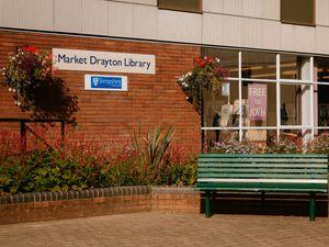 Market Drayton Library in Cheshire Street