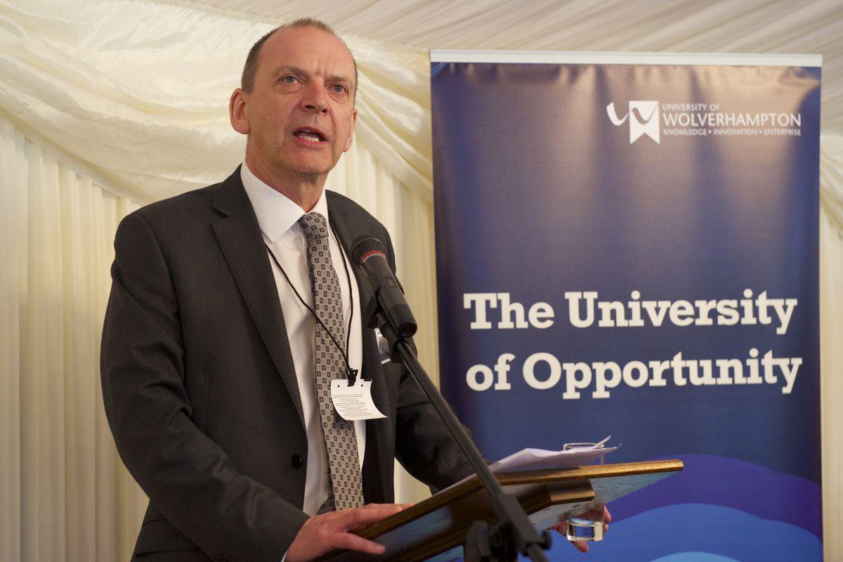 University vice chancellor Geoff Layer