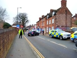 Armed police attend 'domestic incident' in Shrewsbury