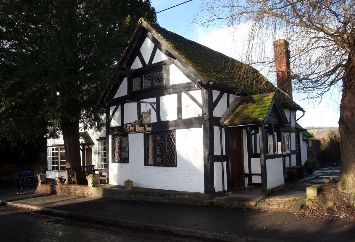 The Boot Inn, Orleton near Ludlow