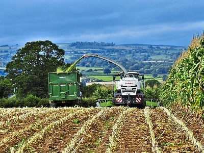Shropshire's summer heatwave brings a tale of two harvests