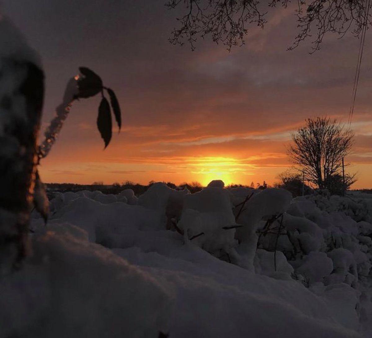 Beautiful sunrise in Bridgnorth. Photo: Emma @Readyfreddiego