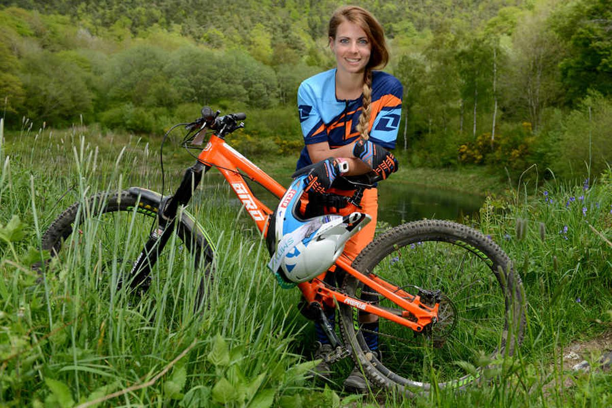 Video and pictures: Shropshire mountain biker - how biking saved me