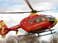 Air ambulance called to two Shropshire crashes in four hours