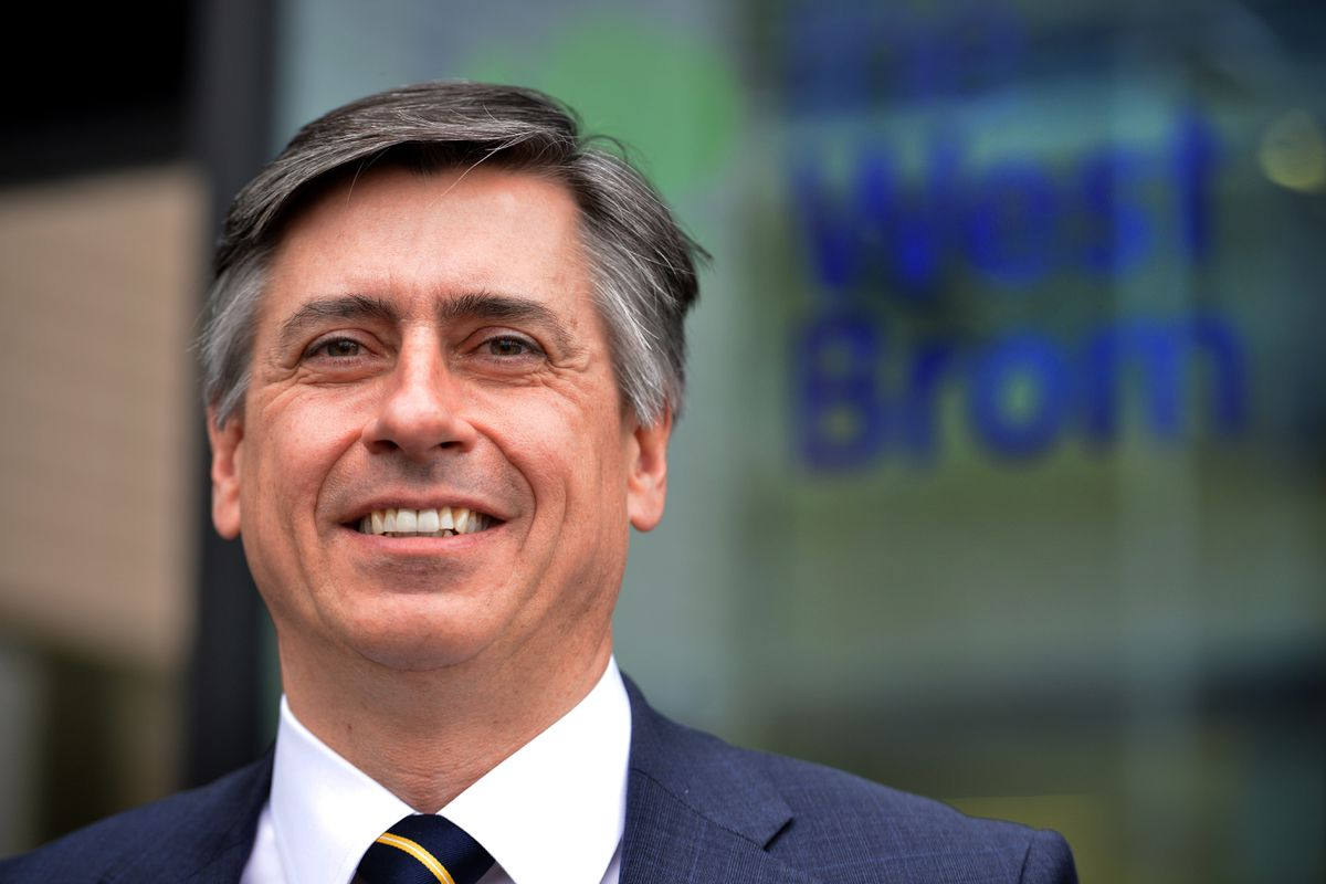 West Bromwich Building Society chief executive Jonathan Westhoff
