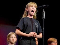 Youngsters hit the high notes at Telford event