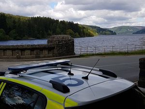 Police patrol at Lake Vyrnwy. Photo: Welshpool Police