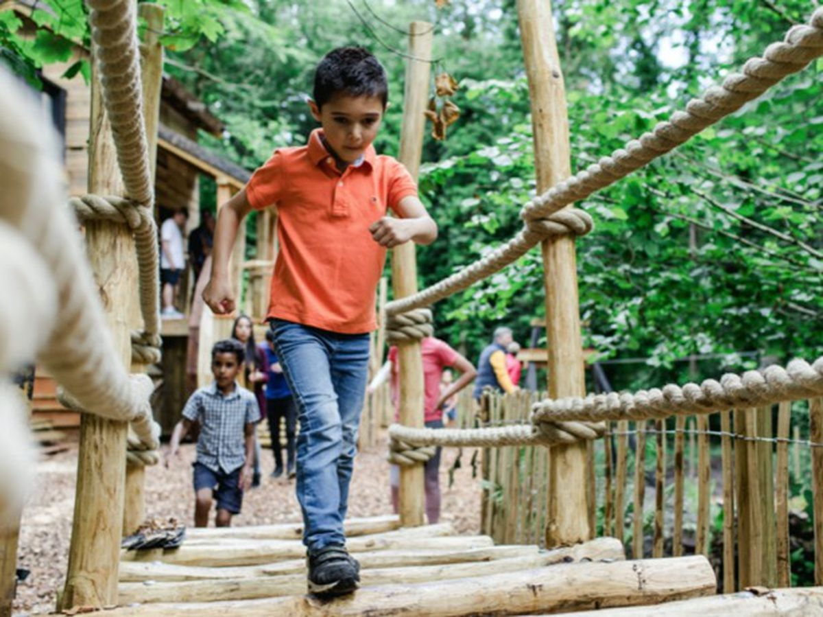 Blists Hill will open the Madeley Wood Company Outdoor Adventure - a new interactive play attraction for children, on August 6.