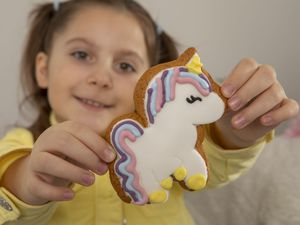 Millie Horbunowicz inspired the new unicorn design