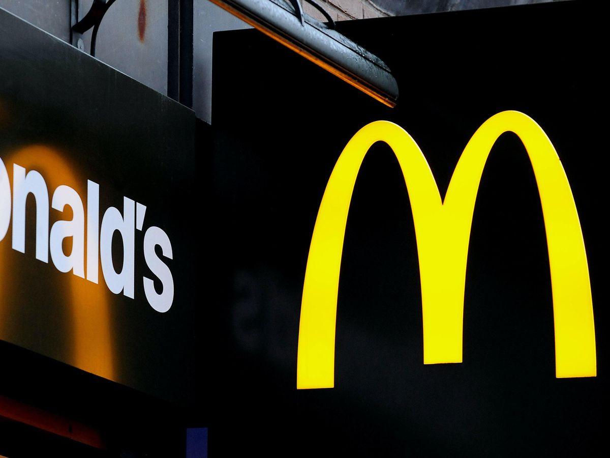 McDonalds restaurant sign
