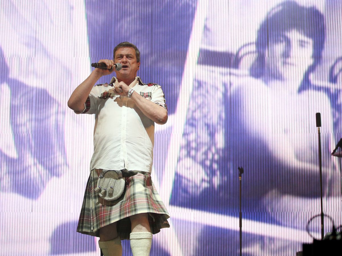 Les McKeown of the Bay City Rollers