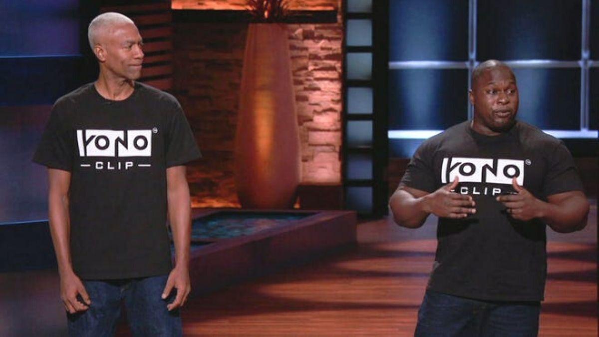 Bob Mackey and Michael Green saw their YONO Clip impress on US TV show Shark Tank