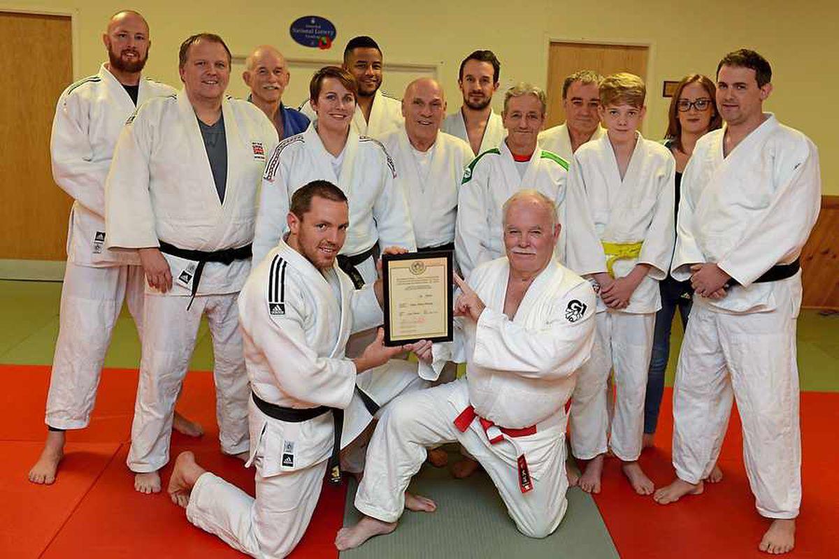 Judo guru Houston is in seventh heaven