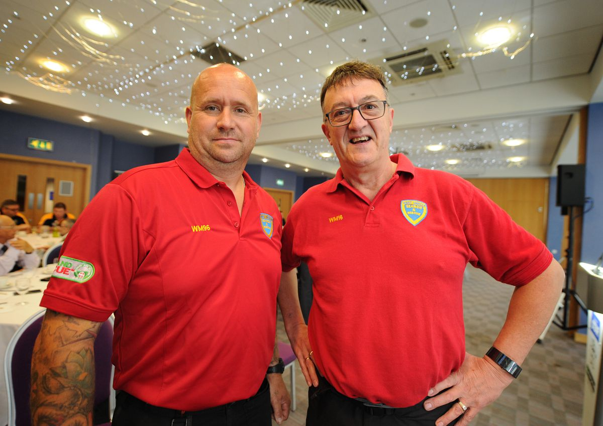 James Gittins and Andy Neal of West Mercia Search and Rescue