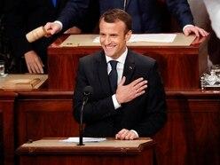 Emmanuel Macron rejects nationalism in speech to US Congress