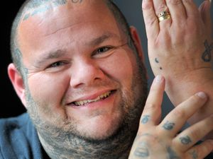Tattooist Noddy, from Ludlow, has raised £1,500 for Shropshire Mental Health Support