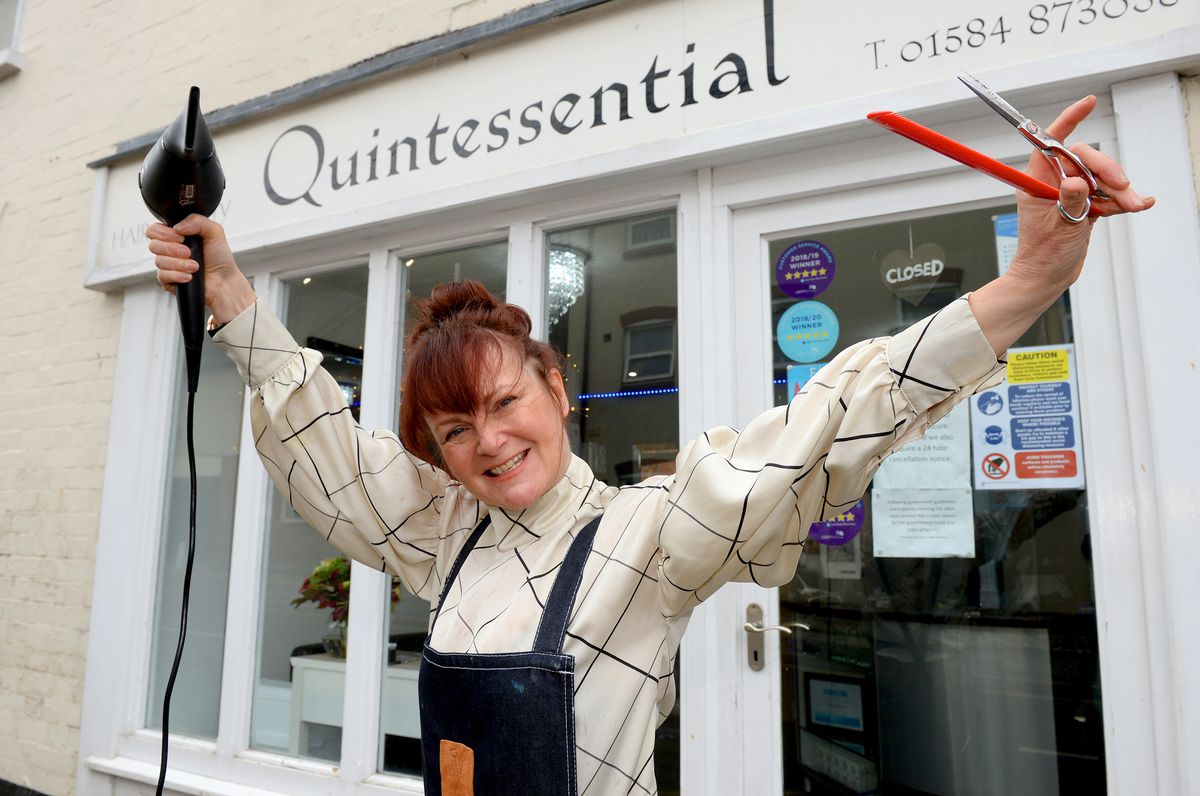 Helen Turner, manager of Quintessential Hair and Beauty, Ludlow