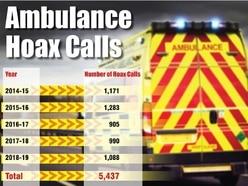 Hoax calls menace: Shameful crime that puts patients at risk