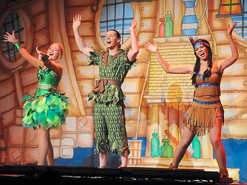 Curtains open on Telford Peter Pan panto