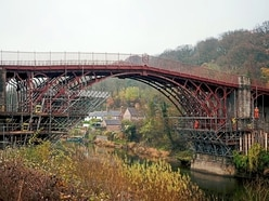 Almost there . . . new look Iron Bridge getting ready for official unveiling