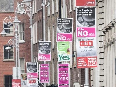 First votes to be cast in Irish abortion referendum
