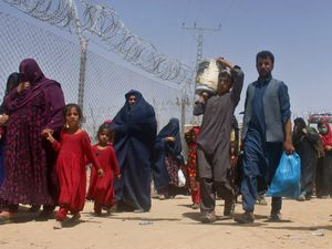 Many Afghans have been fleeing the country after the Taliban takeover